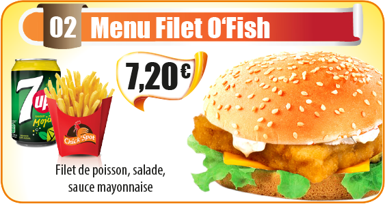 Menu Filet O'Fish