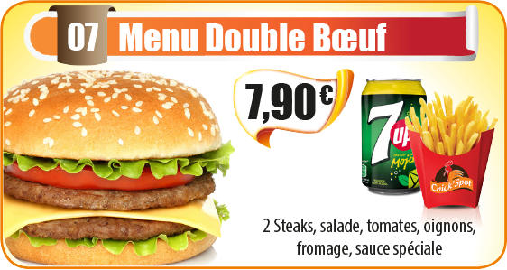 Menu Double Bœuf