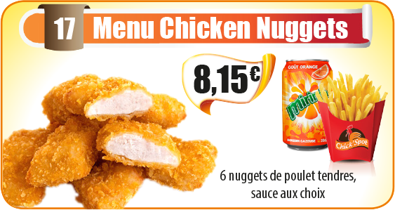 Menu Chicken Nuggets